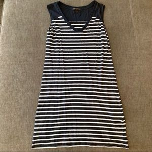 Banana Republic short striped sleeveless dress PXS